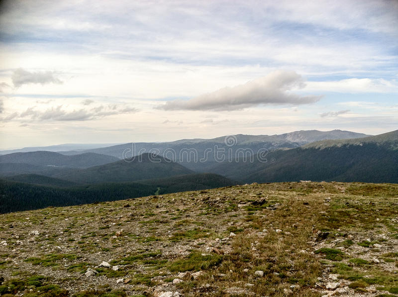 Rocky Mountain park royalty free stock images