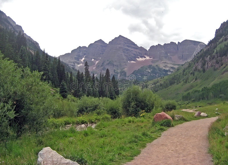 Download Rocky Mountain Path stock image. Image of camp, altitude - 5559857