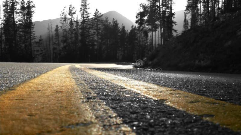 Rocky Mountain Ride fotografía de archivo