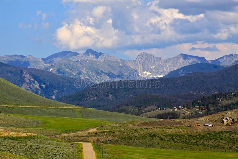 Rocky Mountain View fotografie stock