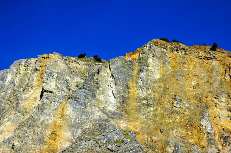 Download Rocky Mountain View On Papandayan Royalty Free Stock Images - Image: 14476639