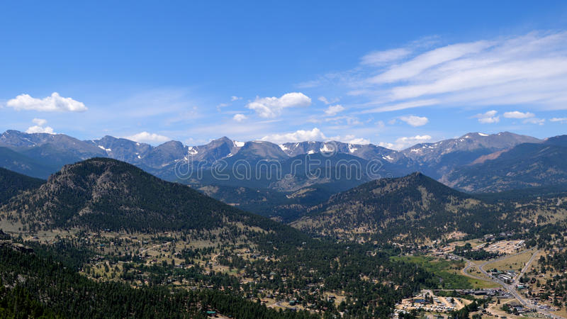 Rocky Mountain Views imagem de stock royalty free