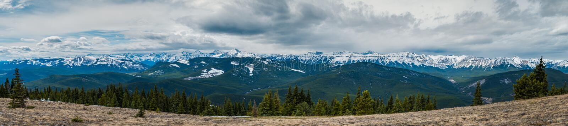 Rocky Mountain Views stock afbeeldingen