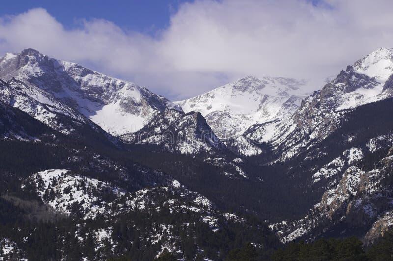 Rocky Mountain Vista stock images