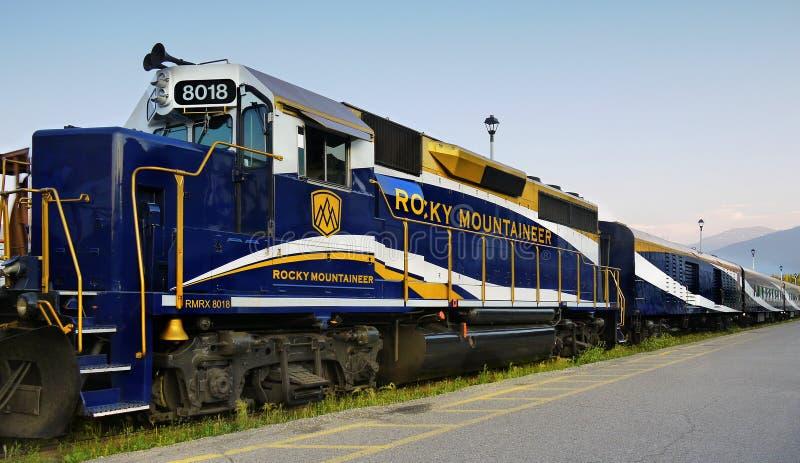 Rocky Mountaineer Train royalty-vrije stock afbeeldingen