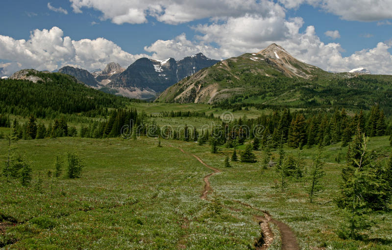 Rocky Mountains. The rocky mountains Banff Canada stock images