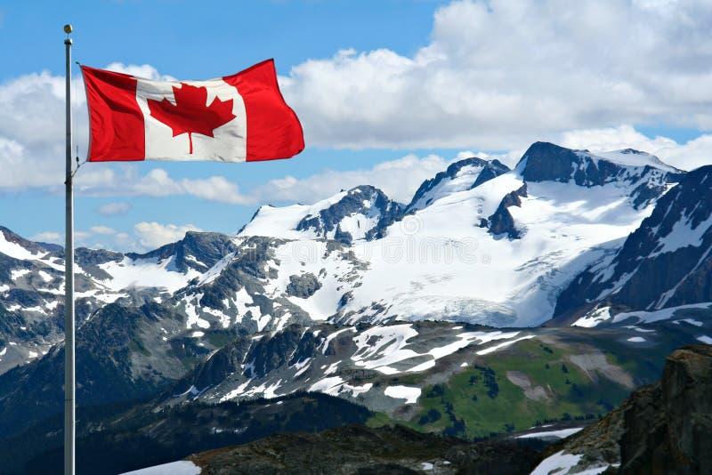 Rocky mountains. At Whistler, Canada stock photo