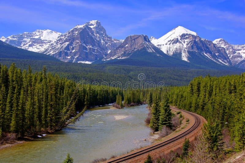 Rocky Mountains imagen de archivo