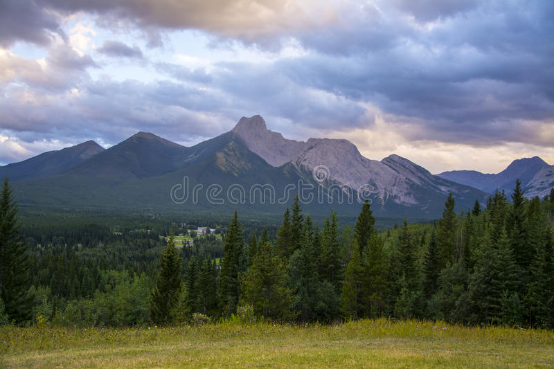 Rocky Mountains lizenzfreies stockfoto