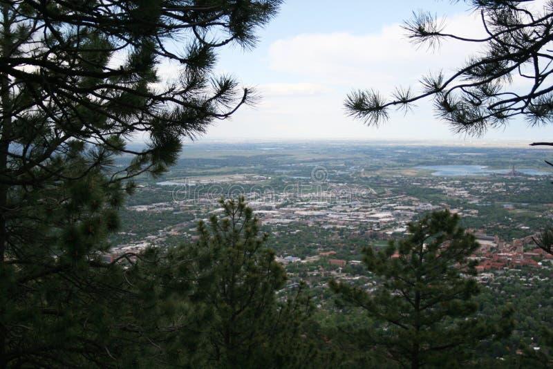 Rocky Mountains i Denver royaltyfri fotografi