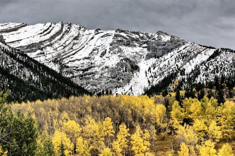 Rocky Mountains Kananaskis Alberta stock photos