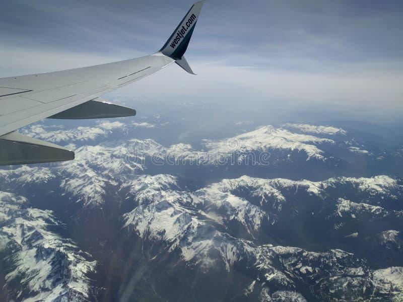 Rocky Mountains, meningen stock afbeelding