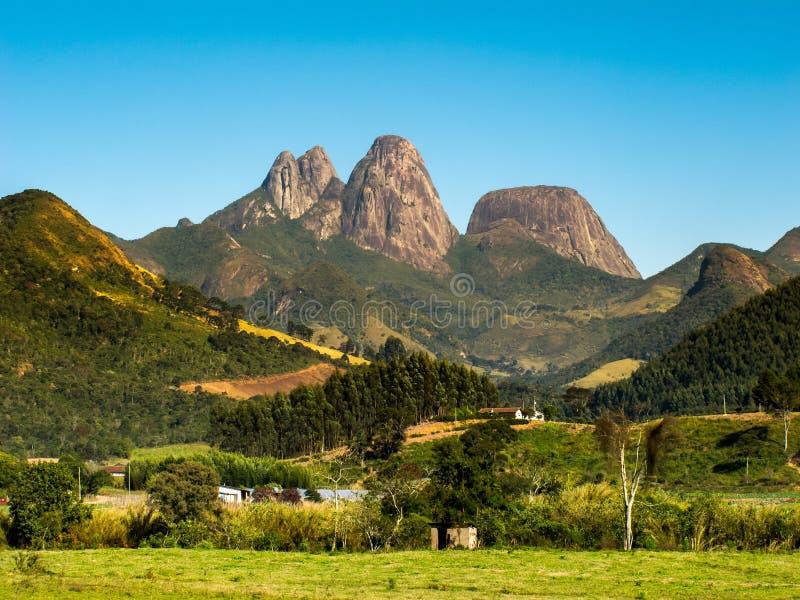 Rocky mountains in up-country Rio de Janeiro - Brazil stock photos