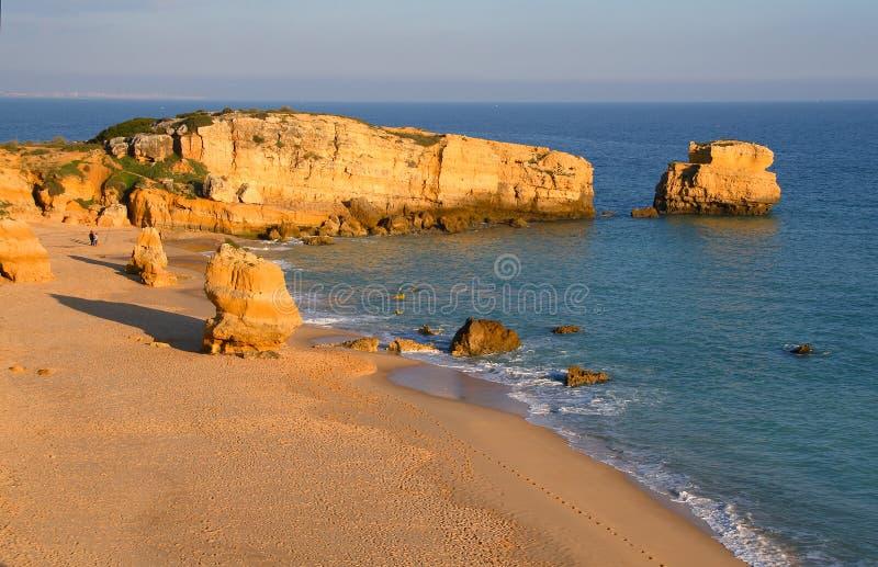 rocky na plaży obraz stock