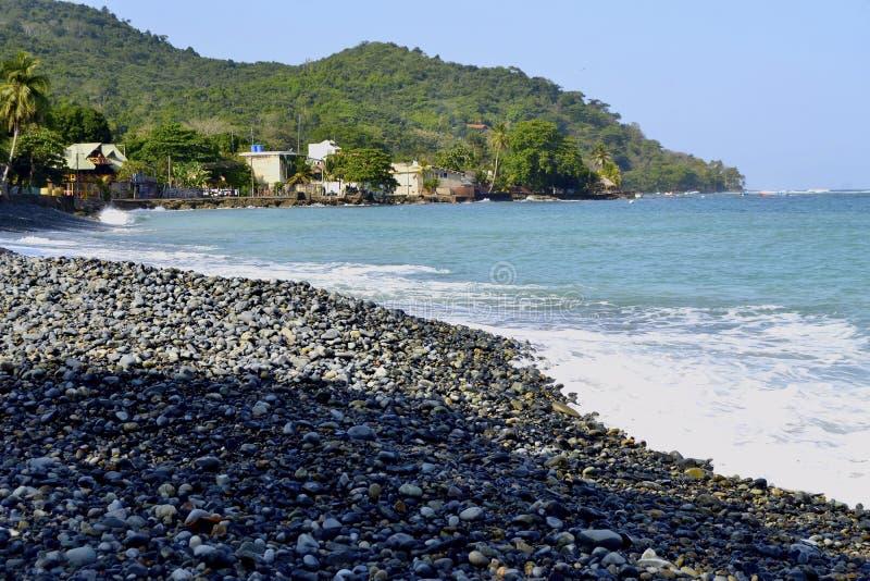 rocky na plaży obraz royalty free