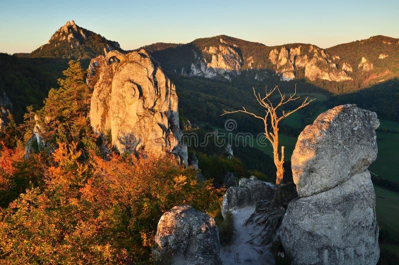 Rocky nature scenery royalty free stock photography