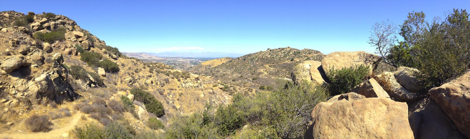 Download Rocky Peak Trails stock image. Image of valley, susana - 32096433