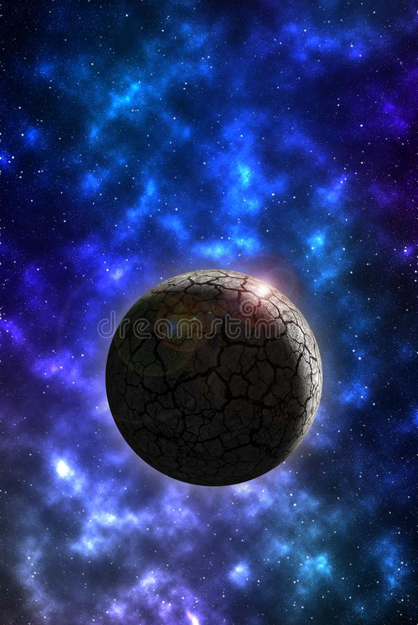 Free Rocky Planet Mobile Wallpaper Stock Photo - 103226210