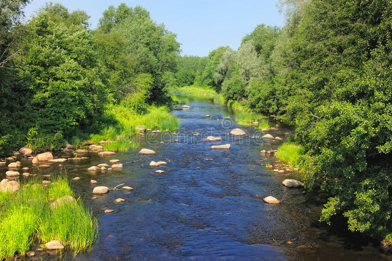 Download Rocky River stock photo. Image of environment, brook - 23476536