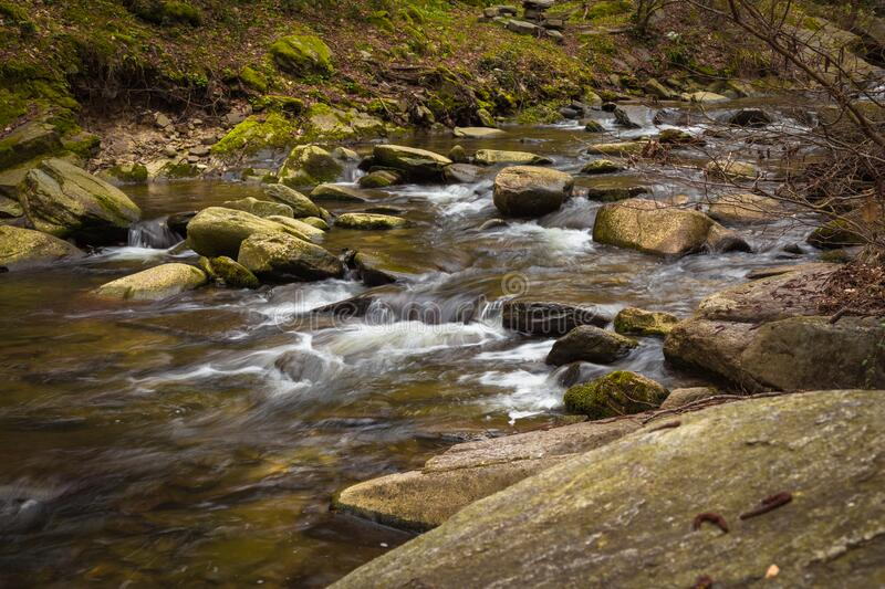 Rocky river royalty free stock image