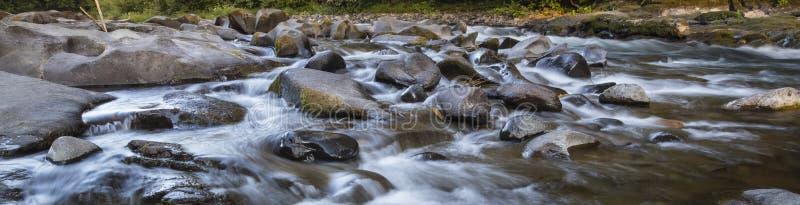 Rocky Riverbed, Cascadia fotografía de archivo libre de regalías