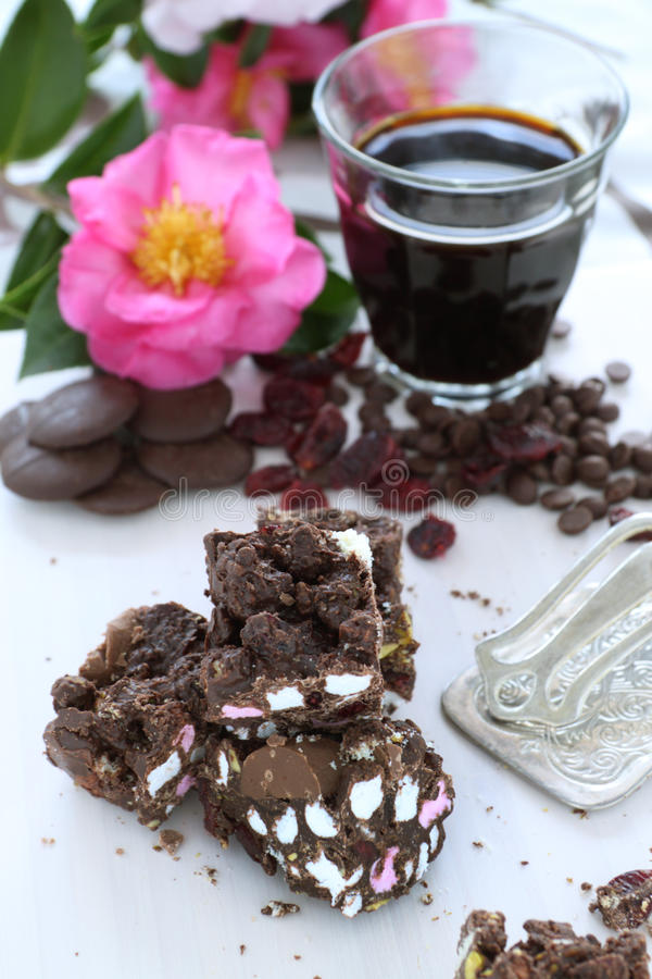 Rocky Road royalty free stock images