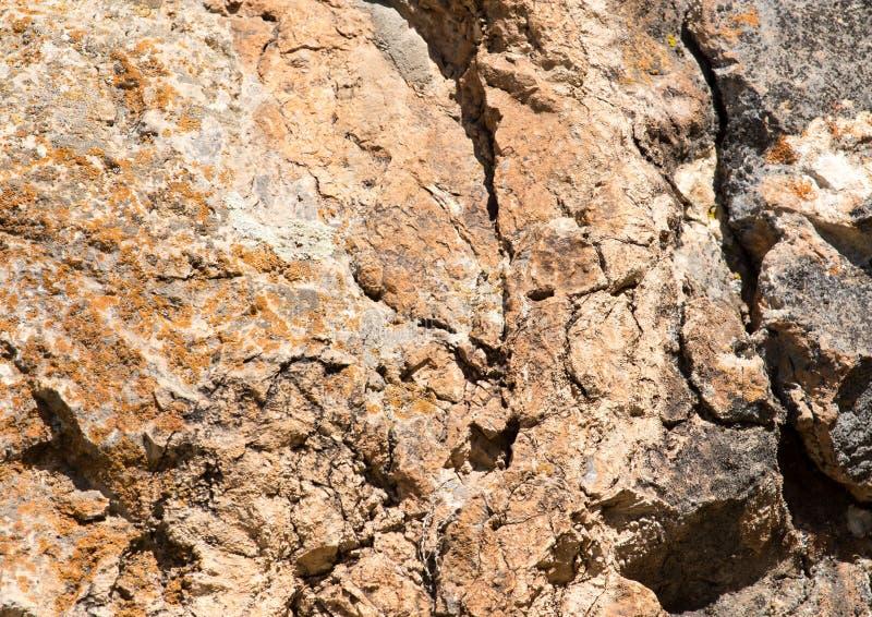 Rocky rock as background stock photos
