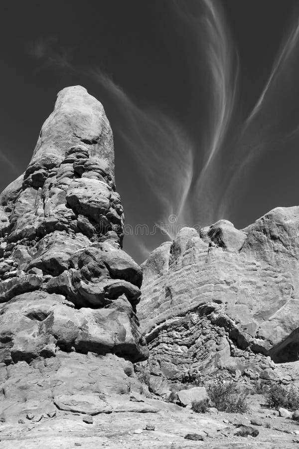 Rocky Rugged Landscape imagens de stock