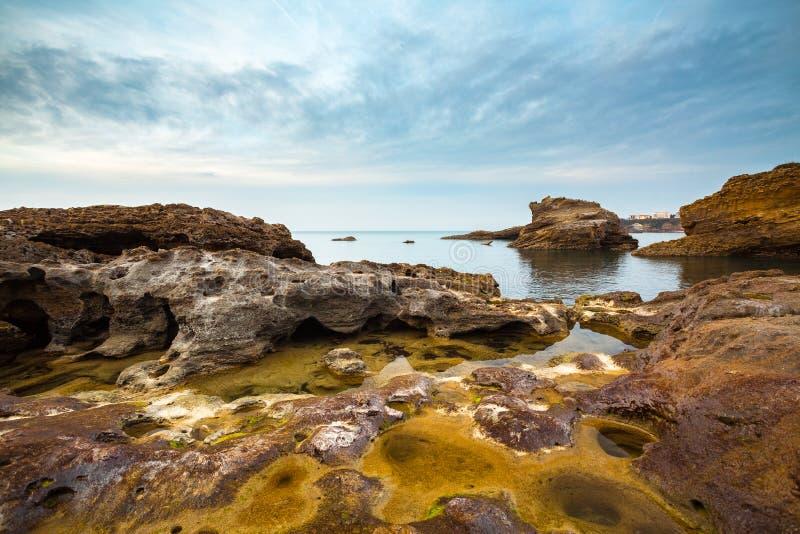 Rocky Seascape Stock Photography