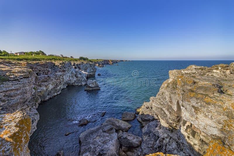 rocky seascape zdjęcia royalty free