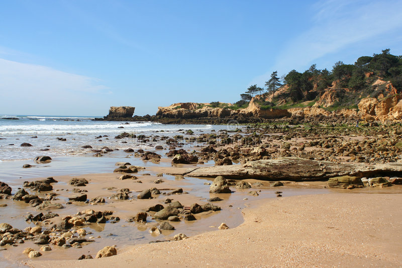 Download Rocky Shore Stock Photography - Image: 763422