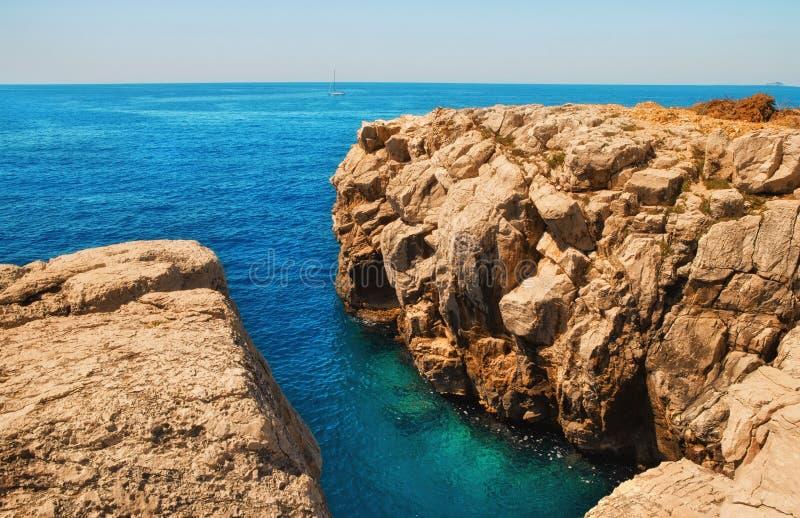 Download Rocky Shore On Lokrum Island Stock Image - Image: 24800117