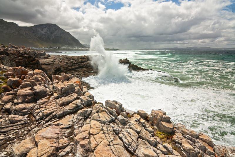 Download Rocky shoreline stock image. Image of motion, waves, ocean - 27946981