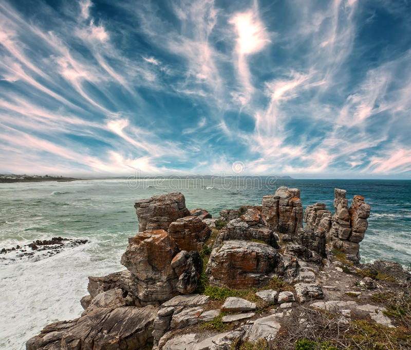 Download Rocky shoreline stock photo. Image of rock, water, nature - 27964788
