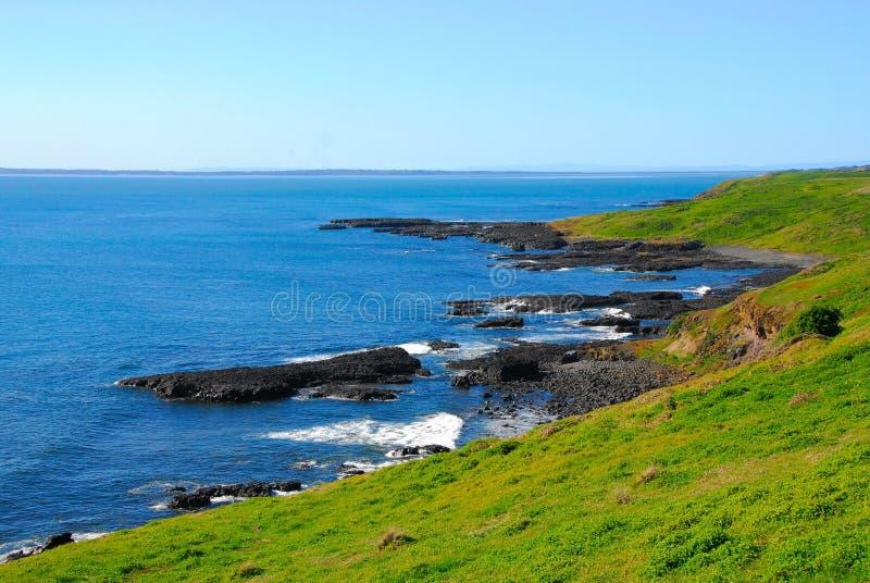 Rocky Shoreline photo stock