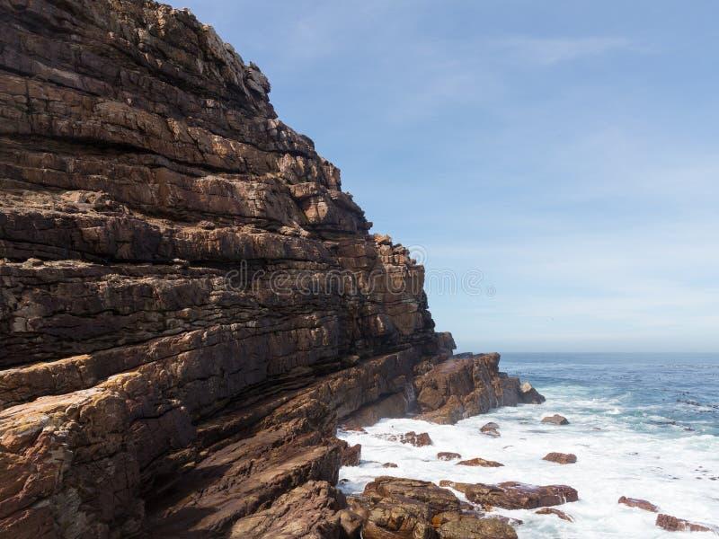 Rocky Shoreline Cape Of Good Hope Stock Photos