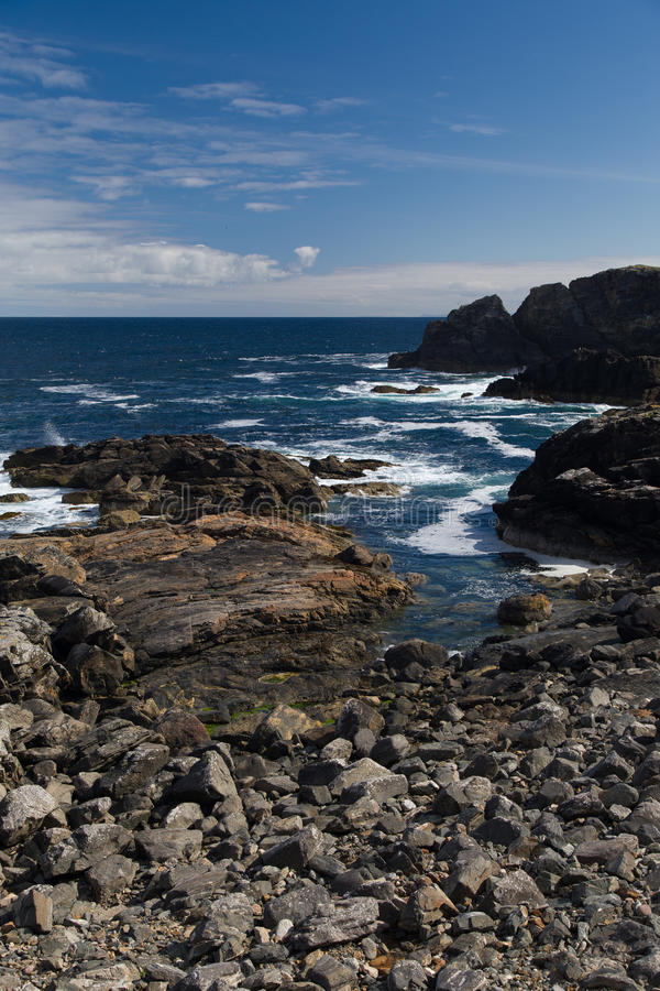 Download Rocky Shoreline In The Outer Hebrides Stock Image - Image: 27620701