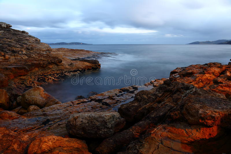 Download Rocky Shoreline stock image. Image of peaceful, scenery - 36171003