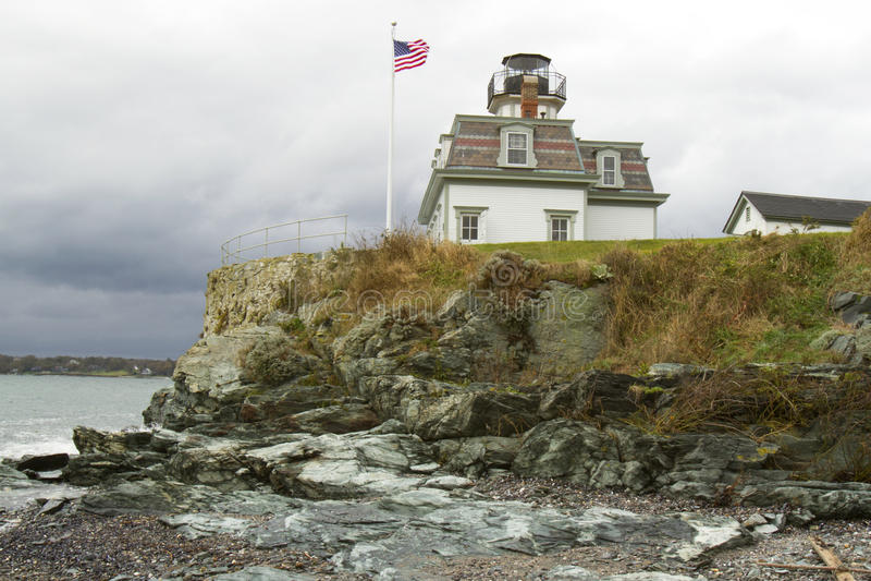 Download Rocky Shores stock photo. Image of coast, naragansett - 27530792