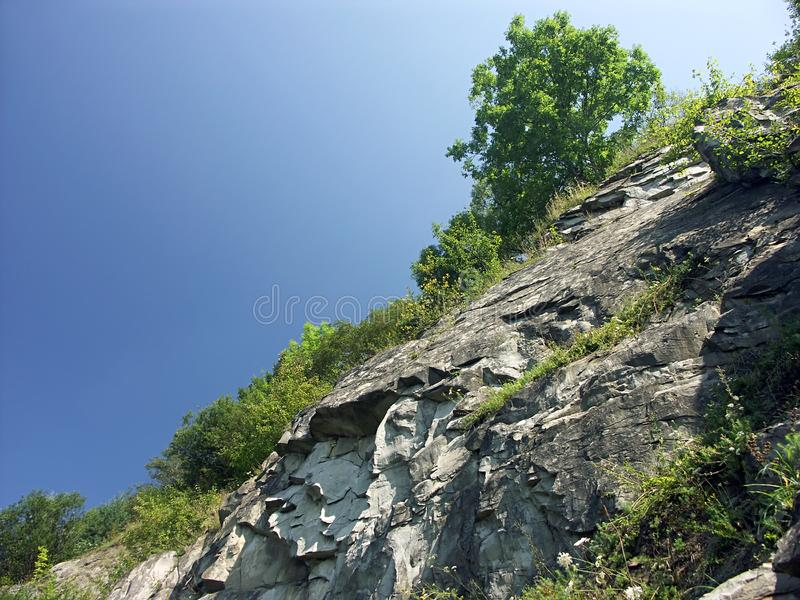 Rocky Slope Free Stock Photography