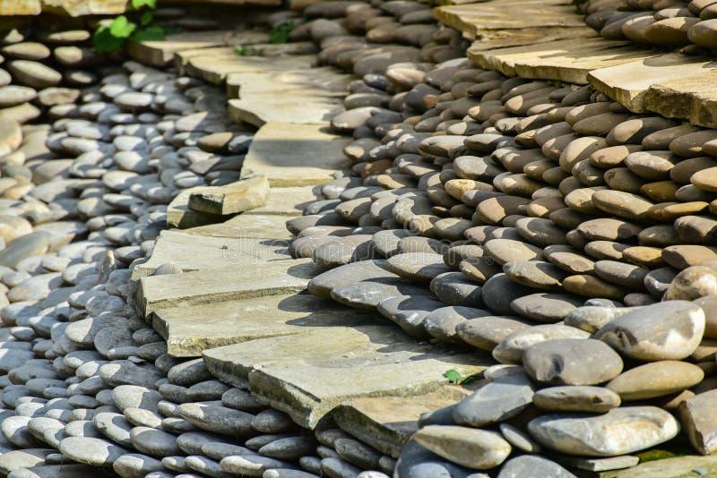 Rocky, stony texture stock photo