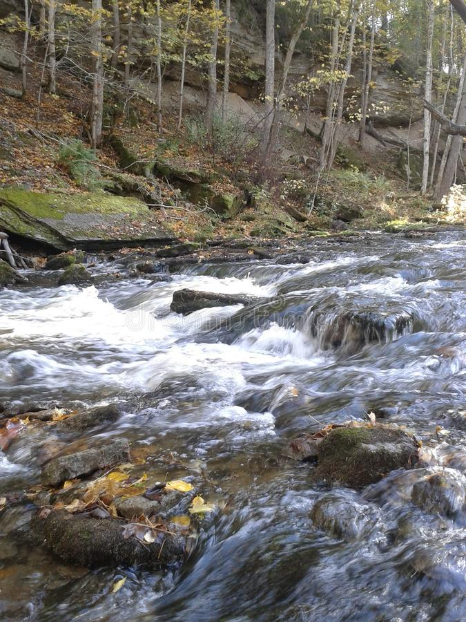 Rocky Stream stock photo