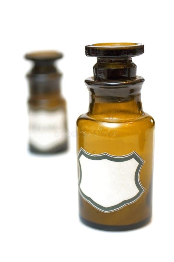 roczna butelki chemicznego zdjęcia royalty free