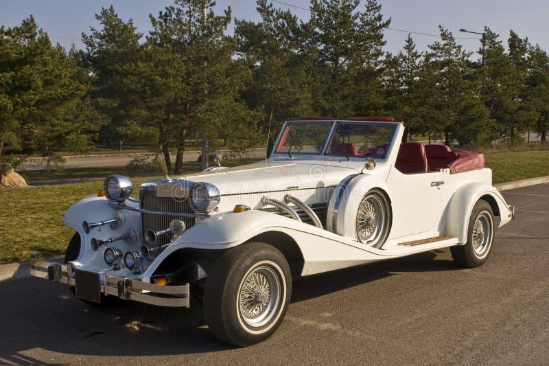 roczna samochodowy white obrazy royalty free