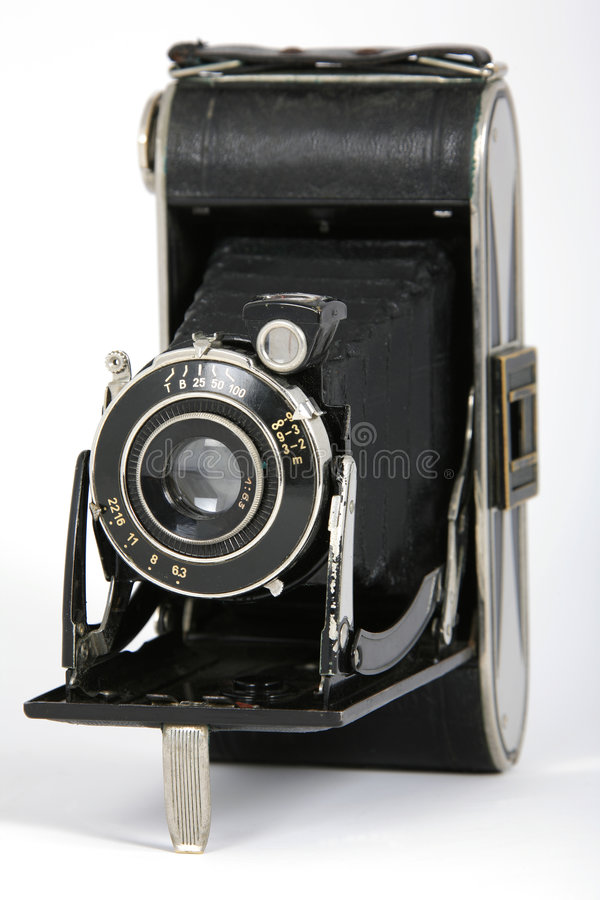 roczne składane kamery obraz royalty free