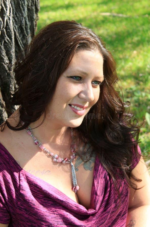 Roczniak piękna kobieta 40 zdjęcia stock