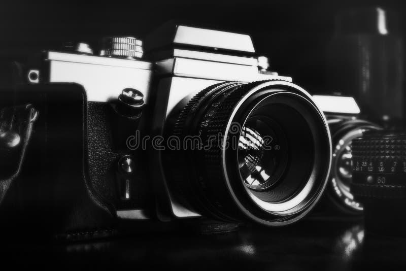 Roczników obiektywy i obrazy stock