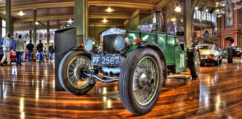 Roczników 1920s sportów Brytyjski samochód obrazy royalty free