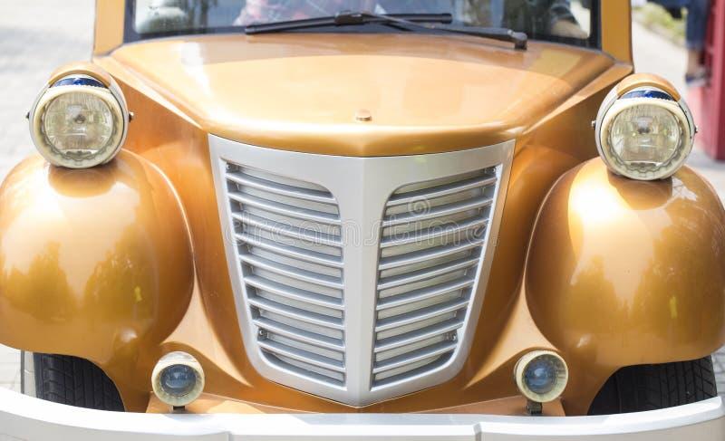 Roczników samochodów reflektor obraz stock