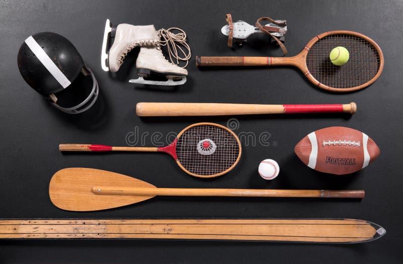 Roczników sportów wyposażenie zdjęcia stock